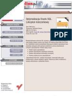 optymalizacja oracle sql. leksykon kieszonkowy pełna wersja