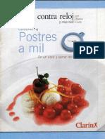 Cocina Contra Reloj - Postres a Mil Antica