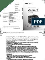 Pentax K20 Handleiding NL