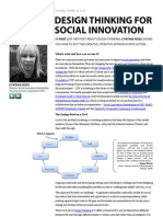 Design Thinking for Social Innovation – Part Two