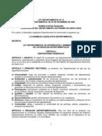 Ley Departamental No13