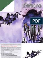 Persona Game Manual