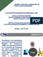 (1) Diapositivas (Plan de Emergencia Empresarial) GoNaBe _2012