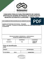 Caderno 007