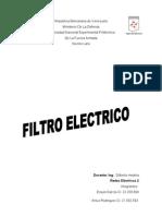 Filtro Electrico