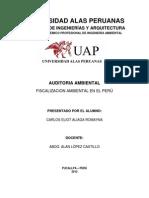 Fiscalizacion Ambiental en El Peru...