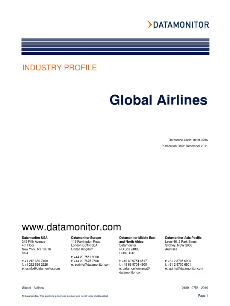 Airline industry profile airlines transport companies fandeluxe Images