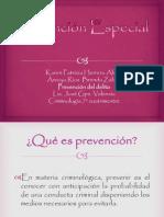 Prevencion Especial