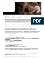 Foie Gras Industry Exposed
