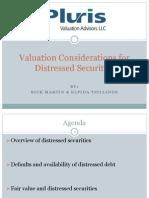 Distresse Debt Analysis