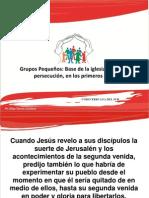GPs Base de la iglesia frente a la persecución