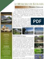 Cartel IV Congreso Mexicano de Ecologia