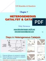 7 Heterogeneous Catalyst