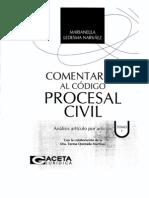 Comentarios Al Codigo Procesal Civil Peruano - Tomo i