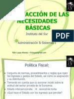 6SATISFACCION DE LAS NECESIDADES BÁSICAS