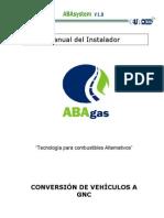 manual de instalador GNC (ABAgas)
