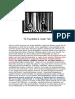 The Prison Industrial Complex Part 2