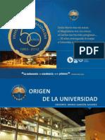 PRESENTACIÓN ORIGENES DE LAS UNIVERSIDADES - ARQUETIPOS DE UNIVERSIDAD