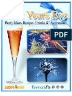 14 New Years Eve Party Ideas Recipes Drinks and Decorations Free eBook