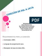 CONEXIÓN DE SQL A JAVA