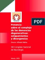 Ponencias Demencias Murcia 2005