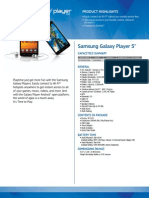 Galaxy Player5 WiFi Spec Sheets FIN R9 1
