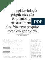 Epidemiología psiquiatrica Augsburger