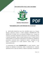 Modelo Pedagogico (Actualizado en redacción Nov 8 2011)