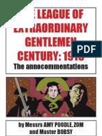 League of Extraordinary Gentlemen - Century 1910 Annocommentations