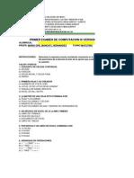 Examen1 de Computacion Version1 Tercer Semestre 2012