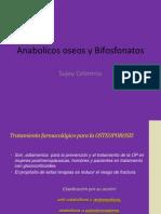 Anabolicos Oseos y Bifosfonatos