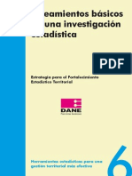 Lineamientos Investigacion Estadistica