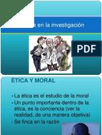 Etica en La Investigacion[1]