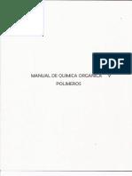 Manual de laboratorio Química Orgánica y polímeros