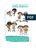 Manual de Implementacion Escuela Nueva