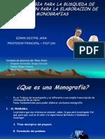 QUE Es Monografias y Buscar Inform.