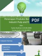 TPB Industri Kertas
