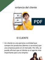 La Importancia Del Cliente Clase 5