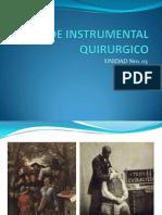 Uso de Instrumental Quirurgico2012