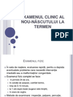 Examen clinic NN
