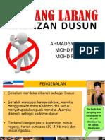 Pantang Larang Kadazan Dusun