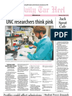 The Daily Tar Heel for October 10, 2012