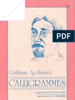 Apollinaire Calligrams