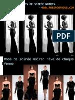 monde de robes de soirée noires