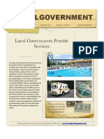 Local Government Exemplar - Developing