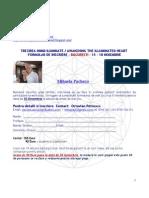 Formular de Inscriere Bucuresti - Noiembrie 2012