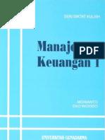 MANAJEMEN KEUANGAN 1 by Miswanto dan Eko Widodo