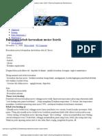 Beberapa Sebab Kerusakan Motor Listrik _ Sharing Pengalaman Maintenance