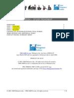 PMP35H Study Roadmap v2009 v7