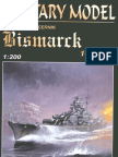 [Paper Model] [Ship-Boat] Battleship DKM Bismarck